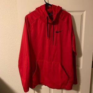 Nike Jackets & Coats - Red Nike hoodie 2xl men's